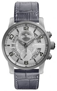 The Montblanc TimeWalker TwinFly Chronograph GreyTech Timepiece 7