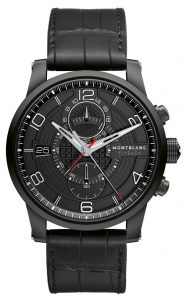 The Montblanc TimeWalker TwinFly Chronograph GreyTech Timepiece 8