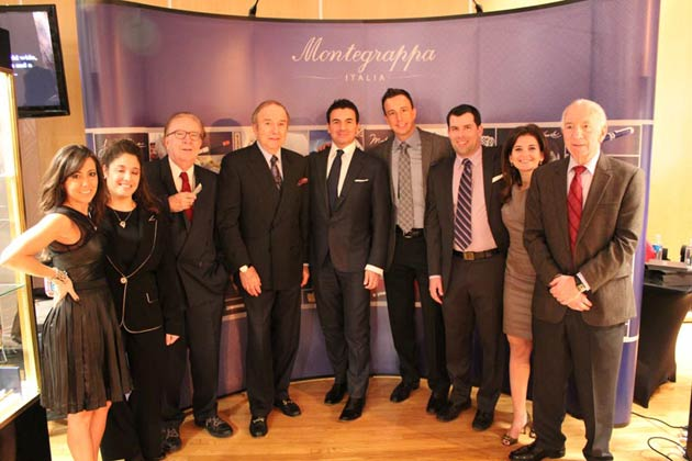 """On October 18th in New York, Montegrappa unveiled its entire collection at its first-ever appearance in the elegant """"salon privée"""", the Luxury Review."""