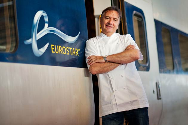 Eurostar proudly announces the appointment of world renowned Michelin starred chef, Raymond Blanc as its Culinary Director.