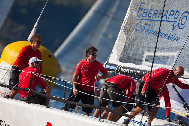Audi-Eberhard comes up trumps with an overall 3rd place ranking in Naples.