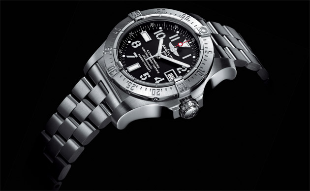 The Breitling Avenger Seawolf Blacksteel Code Yellow Wrist Watch - A Very Special Series.