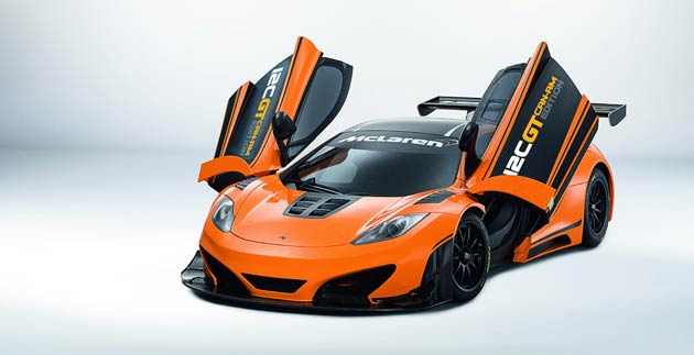 Following the successful premiere of the one-off design study at the Pebble Beach Concours d'Elegance earlier this summer, at an exclusive event ahead of the 2012 United States Grand Prix at the Circuit of the Americas, McLaren GT has confirmed plans for a limited production run of the track-focused 12C GT Can-Am Edition.