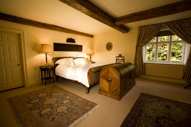 Each of the ten bedrooms has Dewsall's own individual character, with king size beds and feature bathrooms adding that extra sense of comfort and indulgence. The property will be staffed where necessary, fully catered when requested and entirely private if desired, always aiming to meet the needs and wishes of its guests. The house is just as intimate for a family of four as it would be for much larger parties.