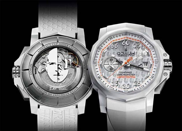 The Corum Admiral's Cup 44 Chrono Centro Didier Cuche wrist watch