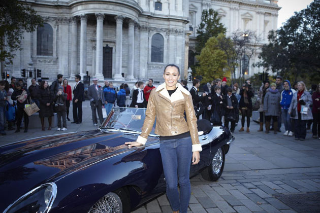 One of the most famous E-Types ever built is to accompany Olympian Jessica Ennis when she drives the all-new F-TYPE in this year's Lord Mayor's Show.