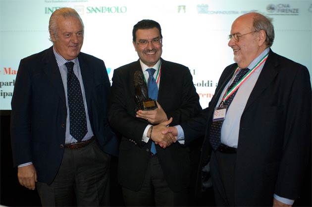 Mauro Fancelli, vice-president of the Florens Foundation ; Juan Carlos Torres, CEO, Vacheron Constantin