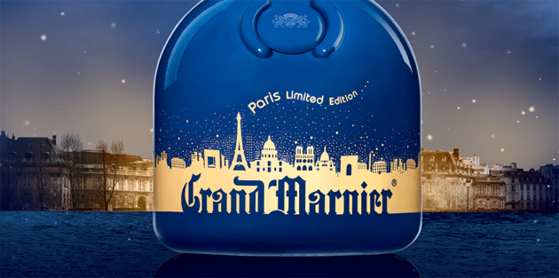 "Luxury brand Grand Marnier launches their Limited Edition ""Paris"" bottle."