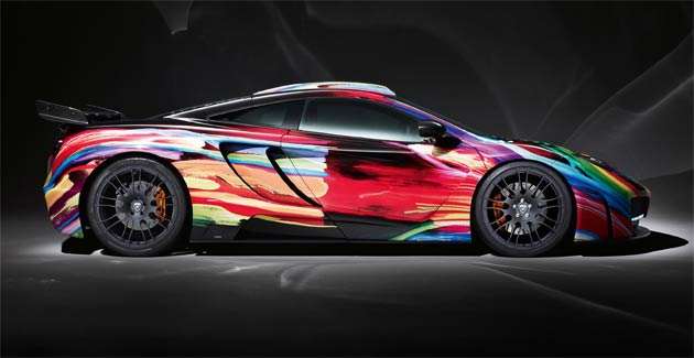 Hamann Motorsport Turns McLaren MP4-12C Into A Work Of Art.