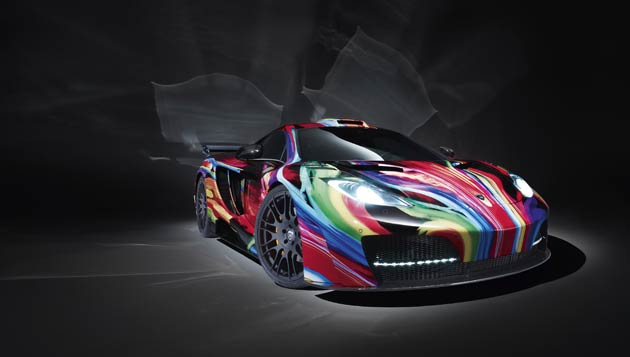 "Hamann, the specialists of unique super sports cars has unveiled the ""memoR"", turning the two-seater McLaren MP4-12C mid-engined model into an exquisitely colourful piece of art, a conversion which will set you back €95,000 excluding tax."