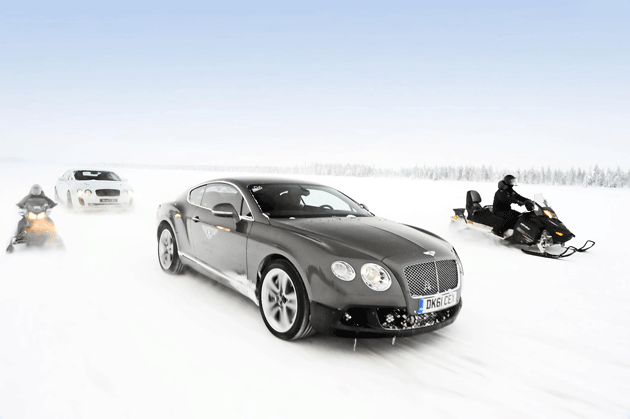 With an all-wheel-drive system that offers reassuring driveability in all conditions, the Bentley Continental GT is the perfect Grand Tourer to take on the challenge posed by driving in snow and icy conditions, particularly as the northern hemisphere winter sets in.