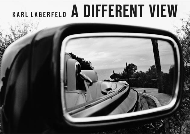 Karl Largerfeld visits Rolls-Royce to present his photography exhibition entitled A Different View.