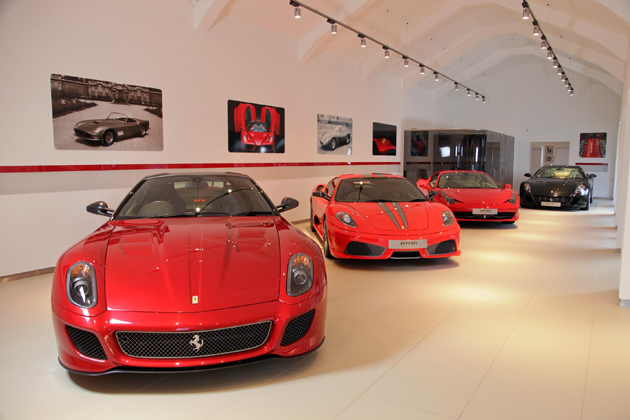 Ferrari is pleased to announce the official opening of Meridien Modena's newly presented showroom in Lyndhurst, Hampshire.