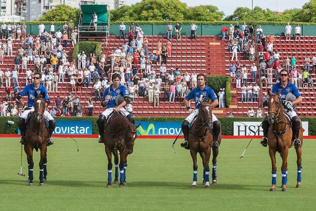 The Pilara Piaget Polo Team beats Algeria 13 to 12 in a close fought battle.