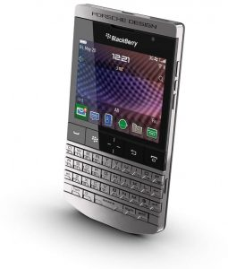 Porsche Design smartphone P'9981 from BlackBerry