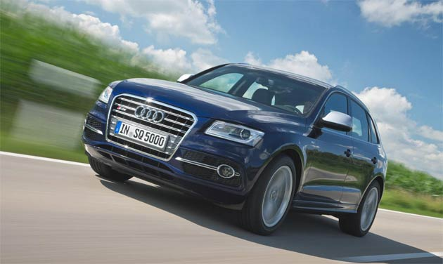 Audi SQ5 TDI to join UK range, first deliveries scheduled for spring 2013.