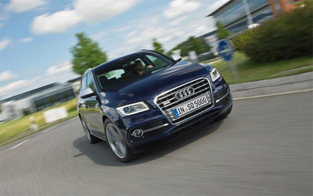 Six years after the Audi R10 made history on the circuit as the first ever sports prototype to win at Le Mans under TDI power, the new SQ5 TDI high-performance SUV is about to post another milestone on UK roads as the first ever diesel-fuelled 'S' model.