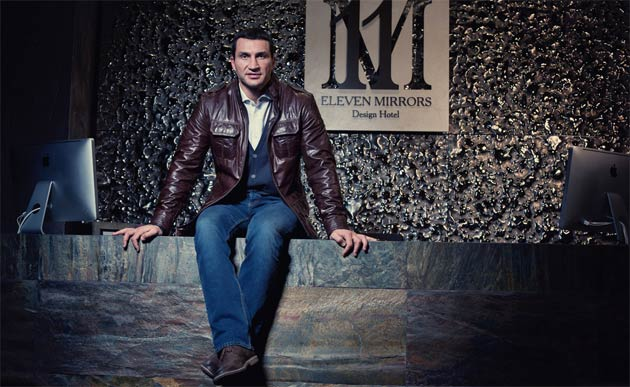 11 Mirrors Hotel, the brainchild of heavyweight boxing champion Vladimir Klitchko opens in Kiev.