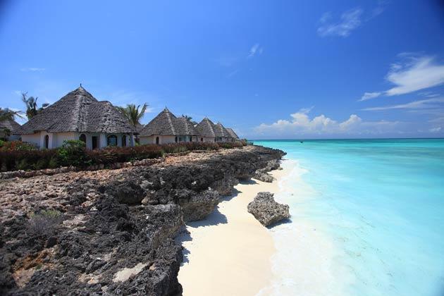 Reena Patel visits Essque Zalu Zanzibar and samples the turquoise waters of the Indian Ocean.