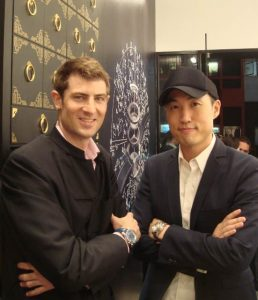 Earlier this year you announced that Hong Kong actor Derek Ting was to be the first Chinese Time Keeper Brand Ambassador