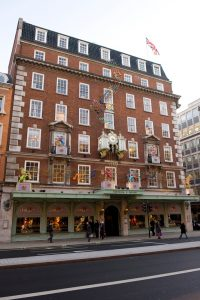 The world famous Fortnum & Mason store celebrating the Queens Diamond Jubilee