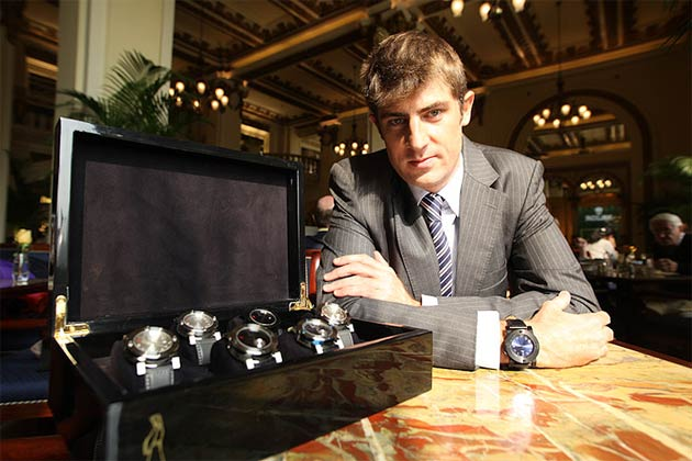 Paul Godbold of Luxurious Magazine talks to Adrien Choux founder of The Chinese Timekeeper.