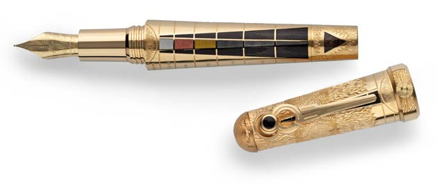 Later that evening, Montegrappa were honoured at the Premier Awards Gala Dinner receiving the best Historical-Themed Pen for the Ancient Mexican Civilisations Pen, and perhaps the even greater honour of being awarded the Best Craftmanship award for the stunning Alchemist Pen.