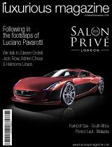 Luxurious Magazine, luxury lifestyle magazine, Autumn Edition 2012
