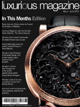 Luxury watch special edition of Luxurious Magazine 2012