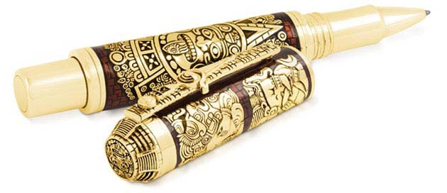 Montegrappa were honoured at the Premier Awards Gala Dinner receiving the best Historical-Themed Pen for the Ancient Mexican Civilisations Pen