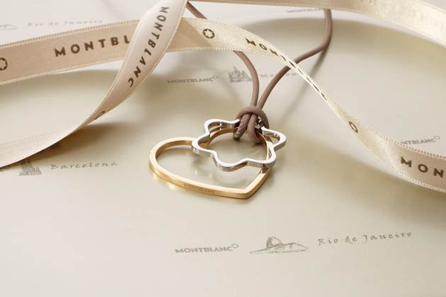 Montblanc Unveils Necklace To Commemorate Valentine's Day