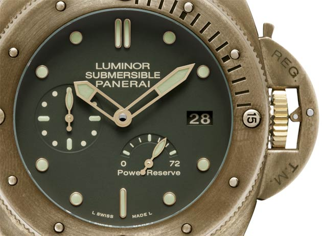Luminor Submersible 1950 3 Days Power Reserve Automatic Bronzo - 47mm (PAM00507)