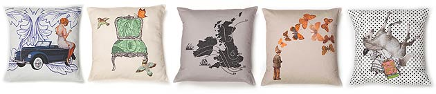 The London-based designer, Ali Miller, has added a new range of cushions to her collection which make perfect luxury gifts for this year's Valentine's Day.
