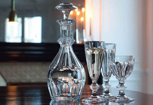 The baccarat harcourt legend embodies not just a single glass but a whole fa - Baccarat harcourt occasion ...