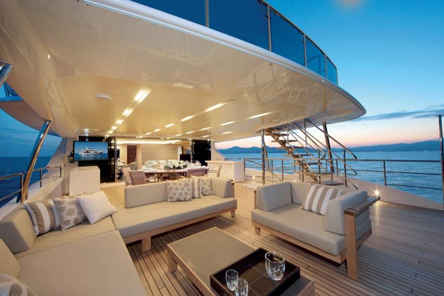 Italian Shipyard Benetti Has Unveiled Their New Classic Supreme 132 Luxury Yacht