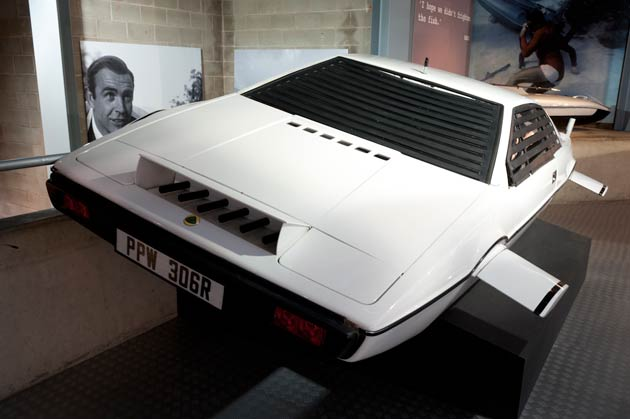 Beaulieu The National Motor Museum Goes 007 Bond In