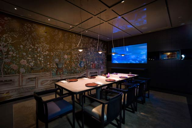 Discreetly (and oh so cool and exclusively) tucked away on the border of the Square Mile in east London, is the latest bespoke Chinese fine dining experience to be introduced by the Hakkasan Group: HKK.