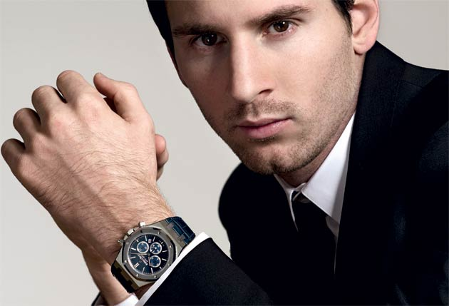 Lionel Messi, Ambassador for Audemars Piguet wins fourth Ballon d'Or.