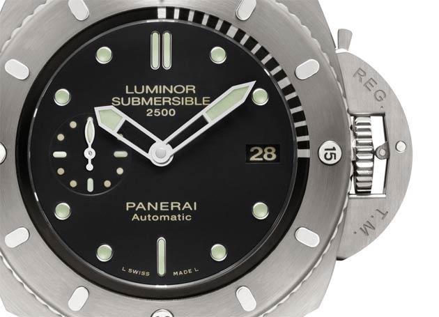 Luminor Submersible 1950 2500m 3 Days Automatic Titanio - 47 mm (PAM00364)