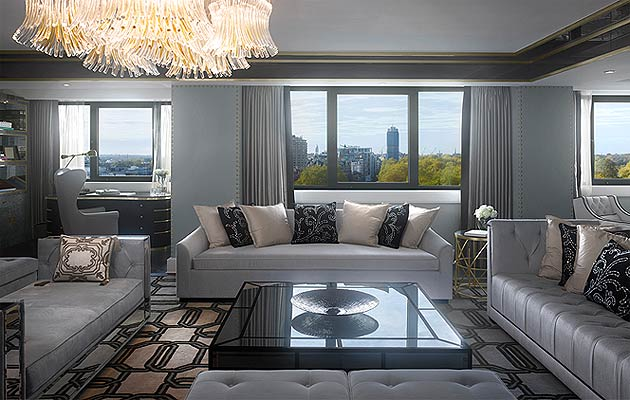New Royal Suite Opens at The Intercontinental London