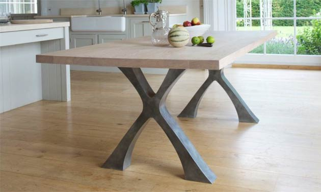 The Exe Dining Table From Handmade Furniture Designer Tom