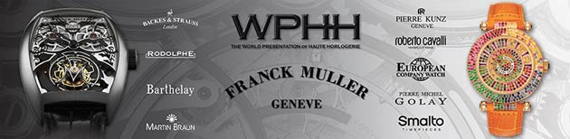 Kết quả hình ảnh cho World Presentation of Haute Horlogerie