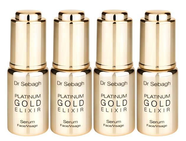 Dr Jean-Louis Sebagh's Platinum Gold Elixir - The Gold and Platinum anti-aging serum