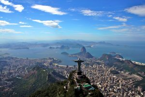 Rio de Janeiro is justifiably the most visited city in the Southern Hemisphere. It's ringed by rugged green mountains and silky white beaches – and has secured the enviable position of hosting both the World Cup in 2014 and the Olympic Games in 2016.