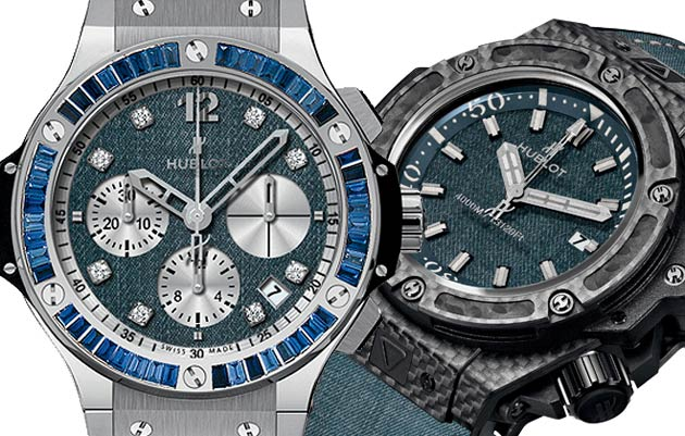 """It's In The """"Jeans"""" For New Hublot Watch Collection"""