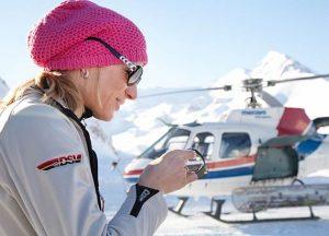 German Double Olympic and World skiing champion, Maria Höfl-Riesch, a Hublot ambassador since 2011.