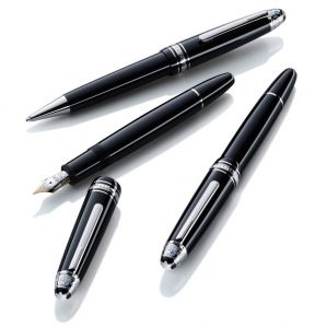 """Montblanc has unveiled their 2013 Montblanc """"Signature For Good"""" Collection, a special edition of writing instruments, jewellery pieces and leather accessories."""