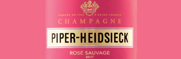 The French champagne house, Piper-Heidsieck, has released a limited edition bottle perfect for Valentine's Day, named 'The Bodyguard Rosé Sauvage'.