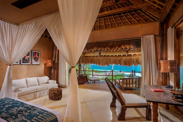 Recently acquired by entrepreneur J. Christopher Burch in partnership with acclaimed hotelier James Mc Bride, Nihiwatu's 27 thatched private villas are set within a 580 acre estate comprising forested areas, open savannah and expanses of rice terraces of which only 65 acres are developed.