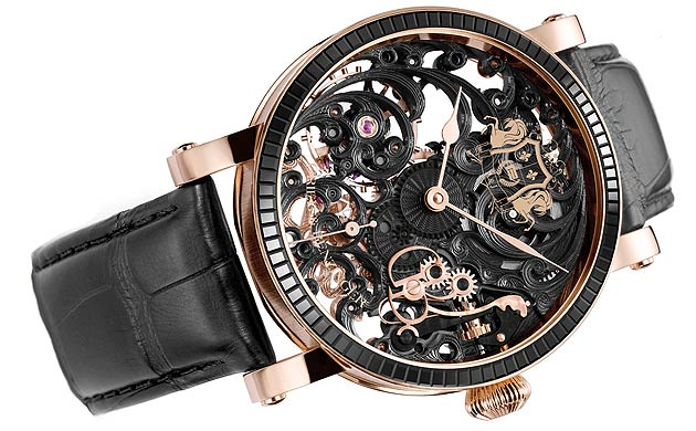 Grieb and Benzinger introduce a new watch for the Middle East, the Black Tulip Sabudha Imperial